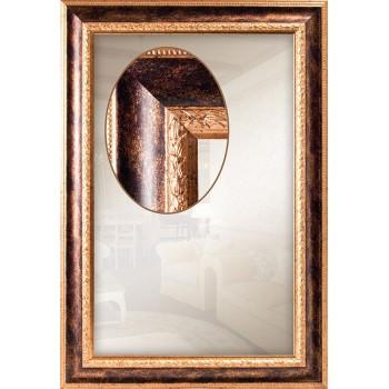 Зеркало настенное для спальни, коридора, ванной в багетной раме