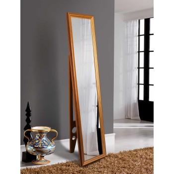 Зеркало напольное ростовое в золотой раме 1650х400