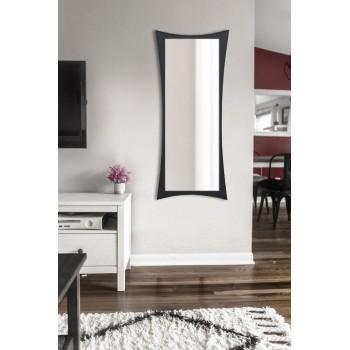 Зеркало настенное ростовое, черное 1300х550 мм
