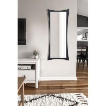 Зеркало настенное ростовое, черно -белое 1300х550 мм