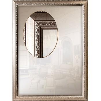 Зеркало настенное интерьерное, для спальни, прихожей, ванной комнаты