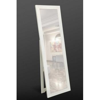 Зеркало напольное ростовое, белое 1900x600