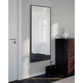 Зеркало настенное, прямоугольное, ростовое, венге 1300 х 600