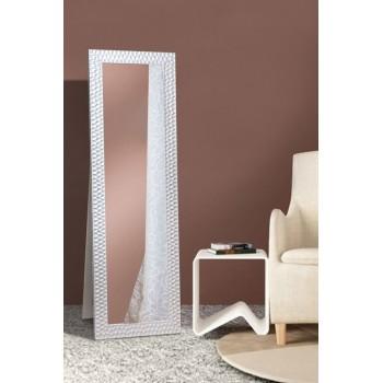 Напольное ростовое зеркало в сером цвете 1900х600 мм