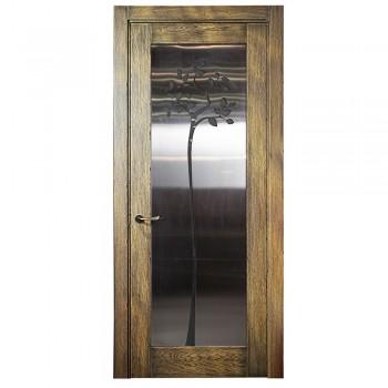 Межкомнатные двери – мод. Loft витраж – в стиле Лофт, Гранж или Индустриальном – двери от дизайнера