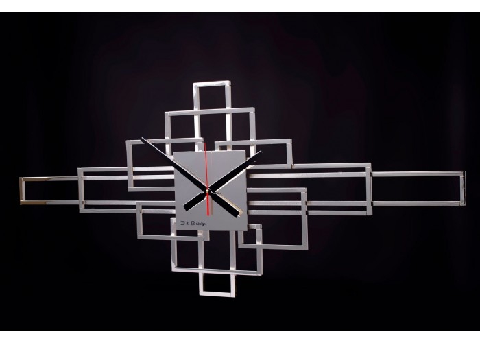 Дизайнерские часы Level — никель глянец  1