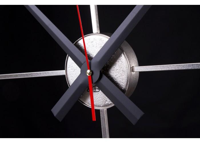 Дизайнерские часы Elegance — никель сатин  6