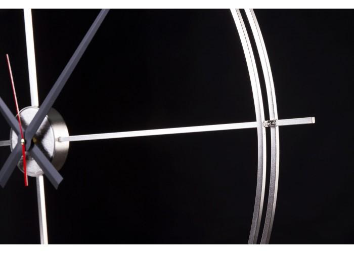 Дизайнерские часы Elegance — никель сатин  7