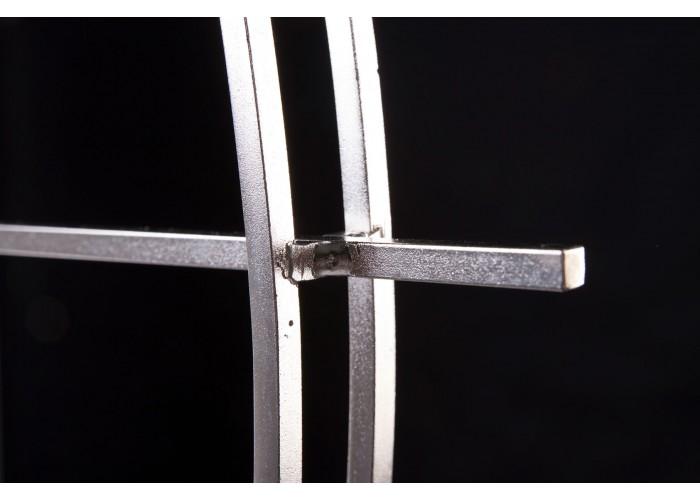 Дизайнерские часы Elegance — никель сатин  8