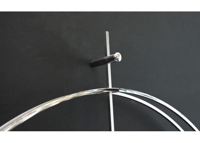Дизайнерские часы Elegance — никель сатин  9