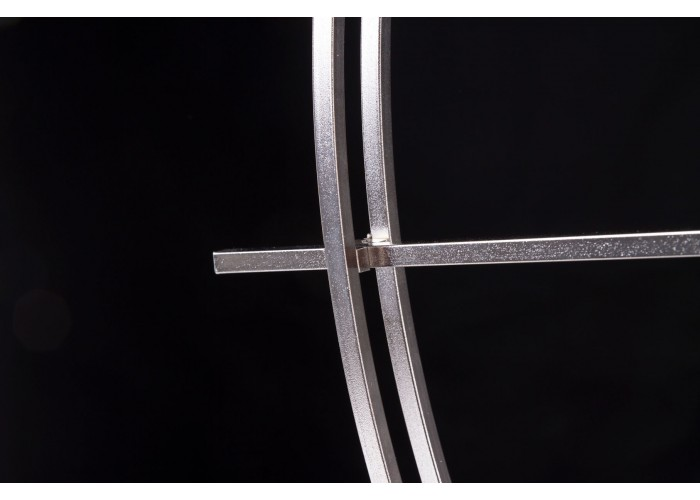 Дизайнерские часы Elegance — никель сатин  10