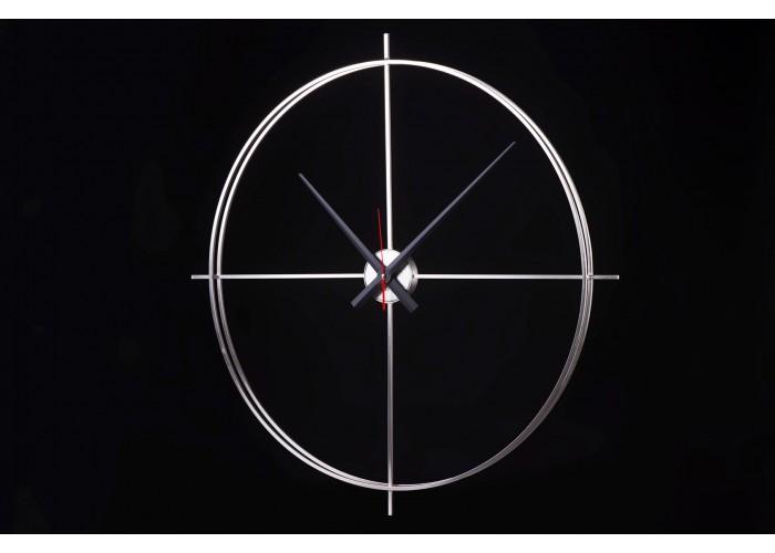Дизайнерские часы Elegance — никель сатин  2