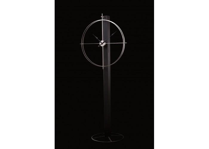Дизайнерские часы Elegance — никель сатин  3