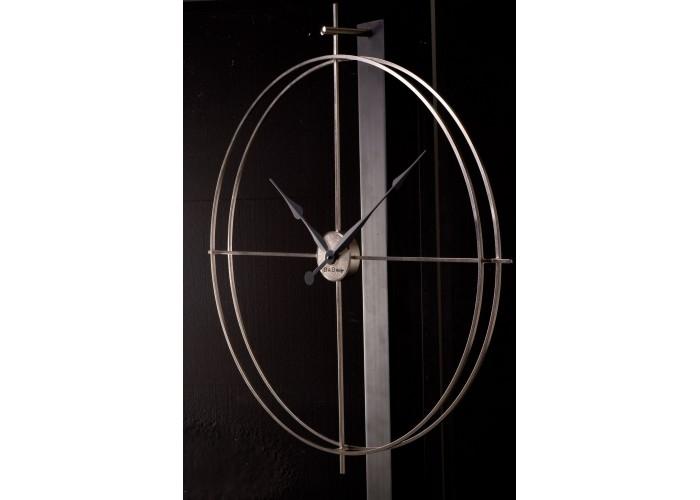 Дизайнерские часы Elegance — никель сатин  4