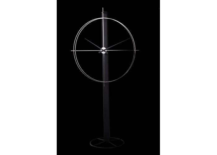Дизайнерские часы Elegance — никель сатин  5