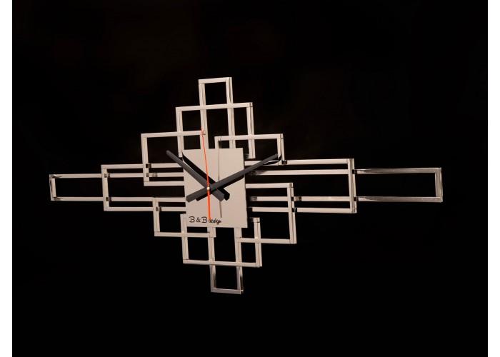 Дизайнерские часы Level — никель глянец  2