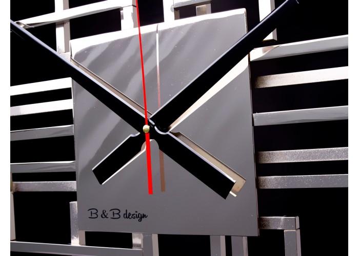 Дизайнерские часы Level — никель глянец  3