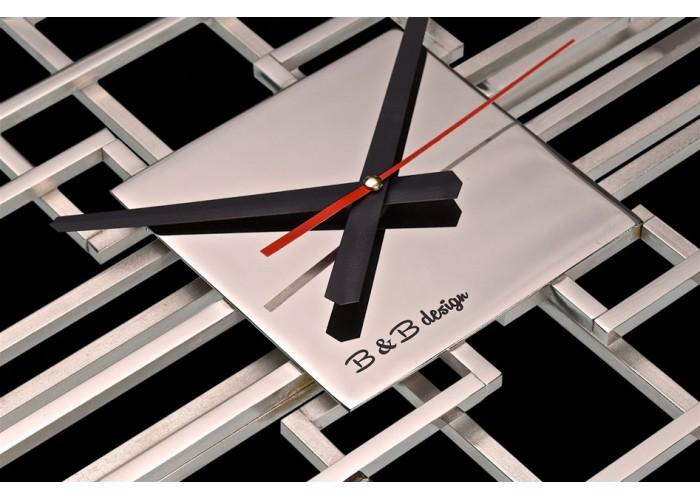 Дизайнерские часы Level — никель глянец  4