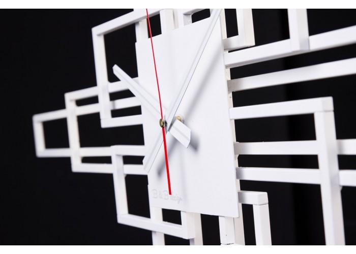 Дизайнерские часы Level — белый  4