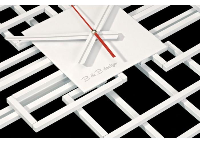 Дизайнерские часы Level — белый  2
