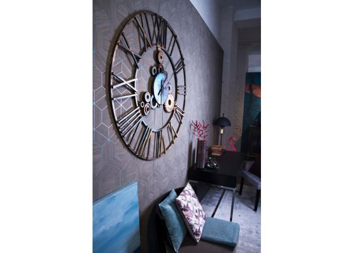 Дизайнерские часы Industrial — никель сатин  10