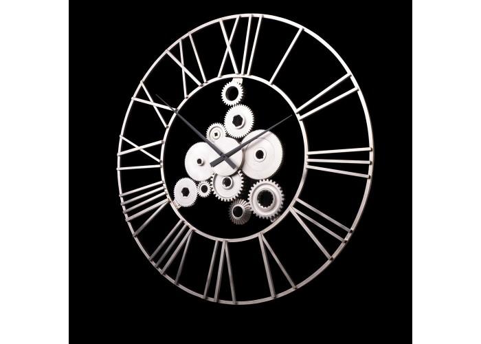 Дизайнерские часы Industrial — никель сатин  1