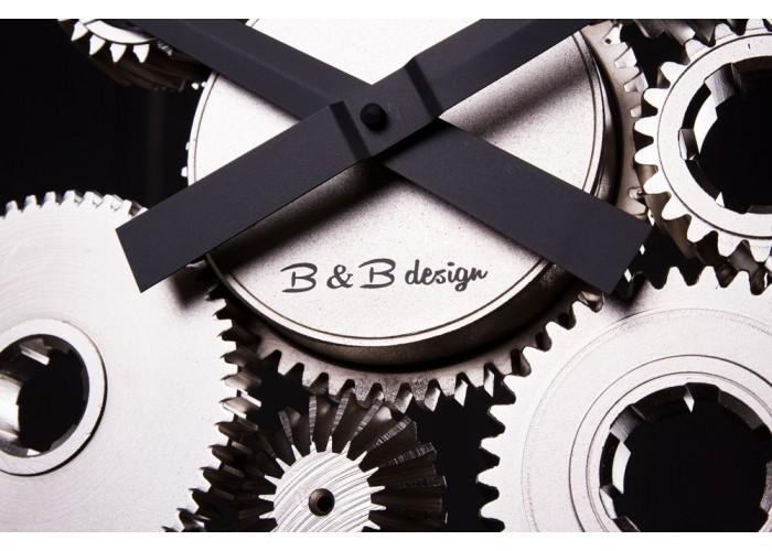 Дизайнерские часы Industrial — никель сатин  4