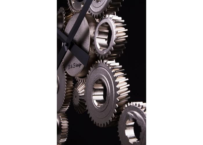 Дизайнерские часы Industrial — никель сатин  5