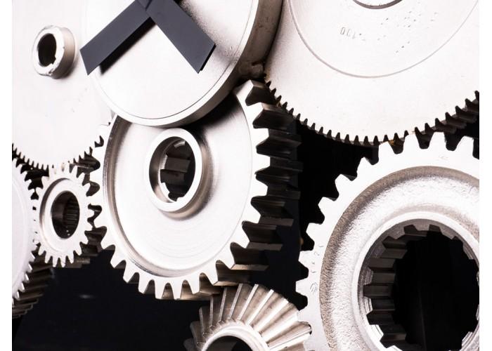 Дизайнерские часы Industrial — никель сатин  6