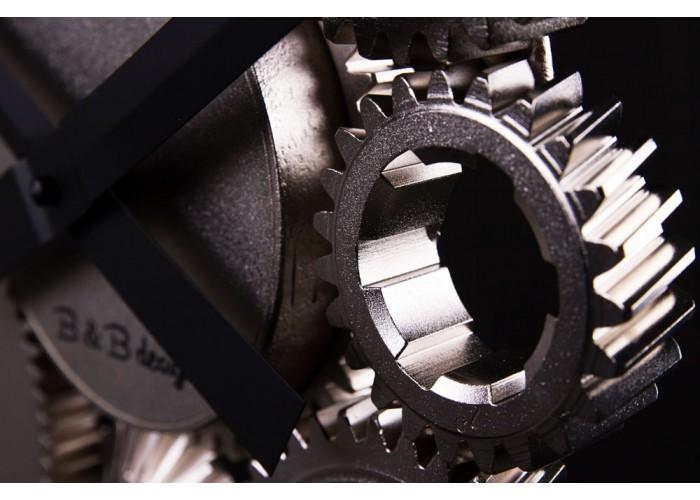 Дизайнерские часы Industrial — никель сатин  7