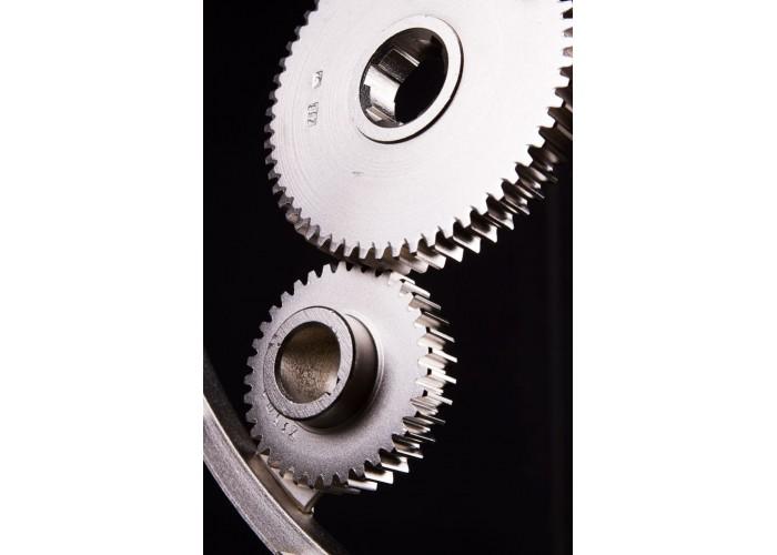 Дизайнерские часы Industrial — никель сатин  8