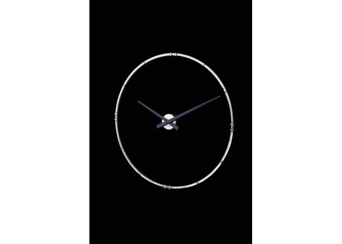 Дизайнерские часы Crystal — никель глянец  1