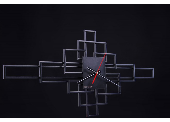 Дизайнерские часы Level — графит  4