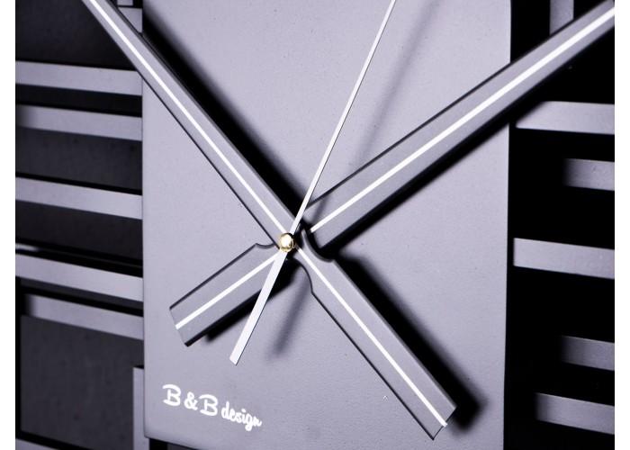 Дизайнерские часы Level — графит  3