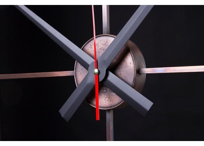 Дизайнерские часы Elegance — медь  3