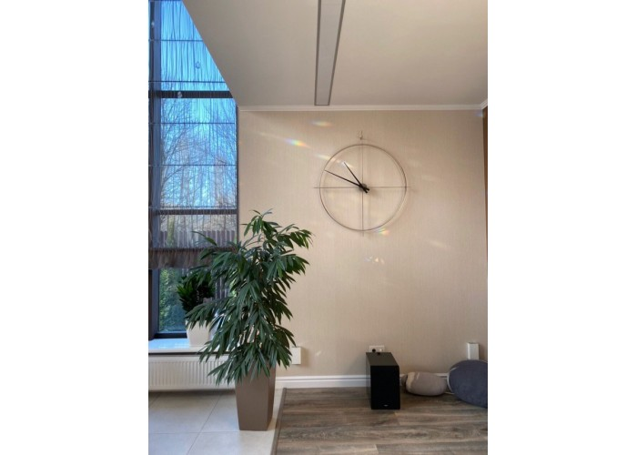 Дизайнерские часы Elegance — медь  8