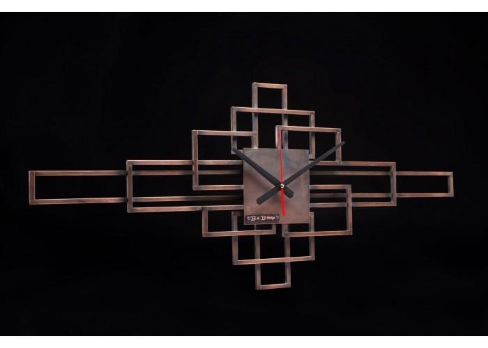 Дизайнерские часы Level — медь  1