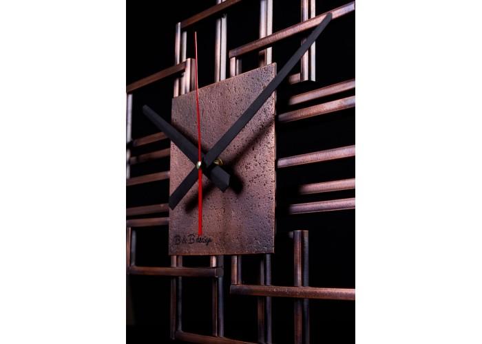 Дизайнерские часы Level — медь  2