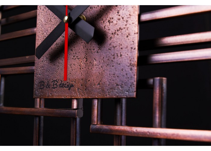 Дизайнерские часы Level — медь  4