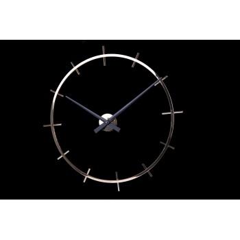 Дизайнерские часы Excellent — никель глянец