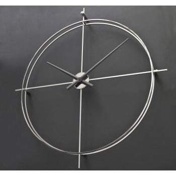 Дизайнерские часы Elegance — никель сатин