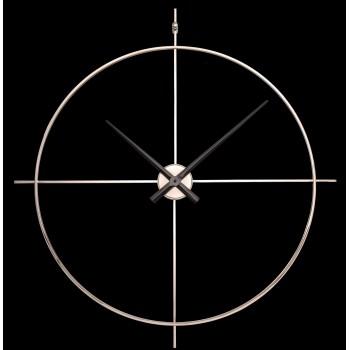 Дизайнерские часы Elegance — никель глянец