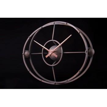 Дизайнерские часы Atom — медь
