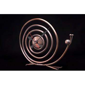 Дизайнерские часы Snail — медь