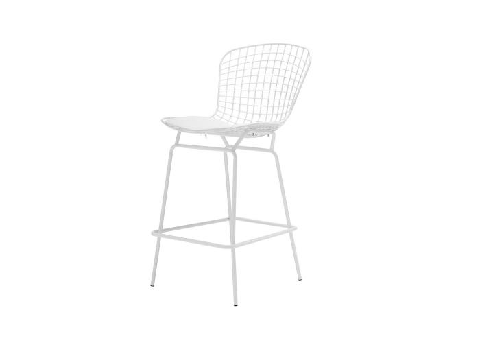 Барный Стул Bertoia Bar Stool (белый)  1