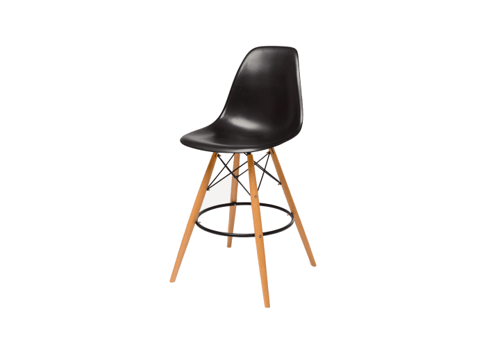 Барный стул Eames Bar Chair (черный)  1