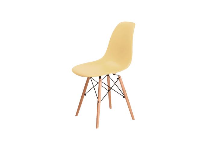 Стул Eames DSW Chair (кремовый)  1