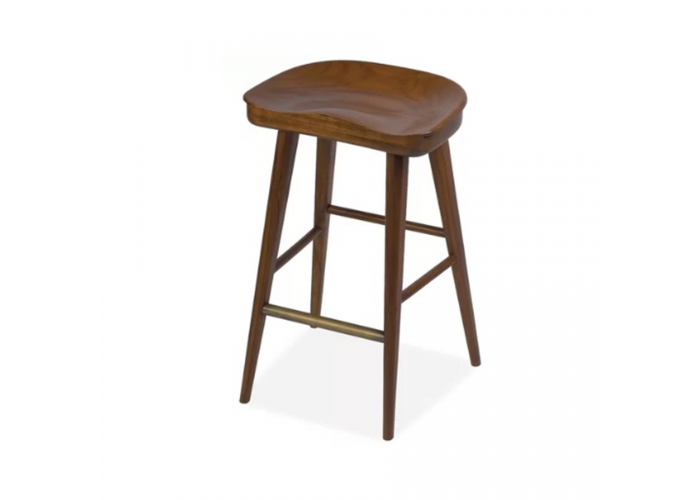 Барный стул Tractor Bar Wood  1