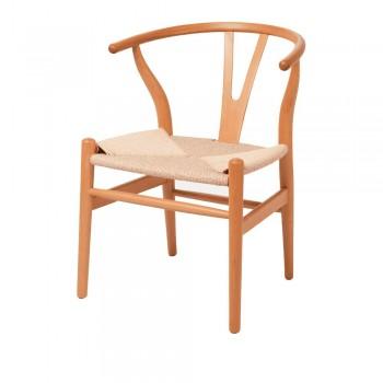 Стул Wishbone Chair (натуральный)