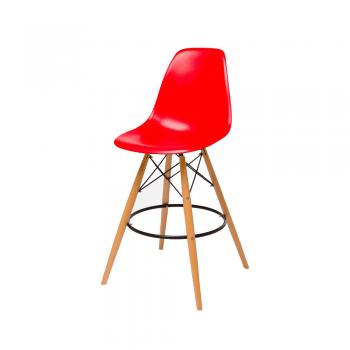 Барный стул Eames Bar Chair (красный)